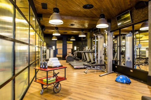 Only You Hotel Atocha · Gimnasio.