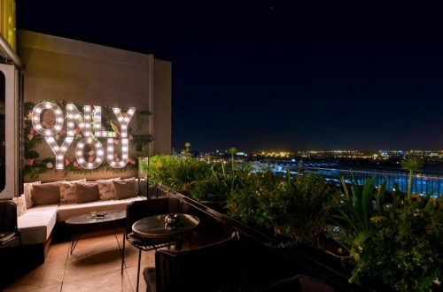 Only You Hotel Atocha · Terraza