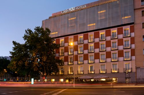 Only You Hotel Atocha · Fachada