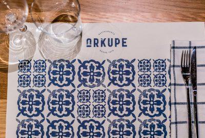 Restaurante Arkupe- Detalle